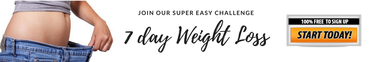 Free 7 Day Weight Loss Challenge