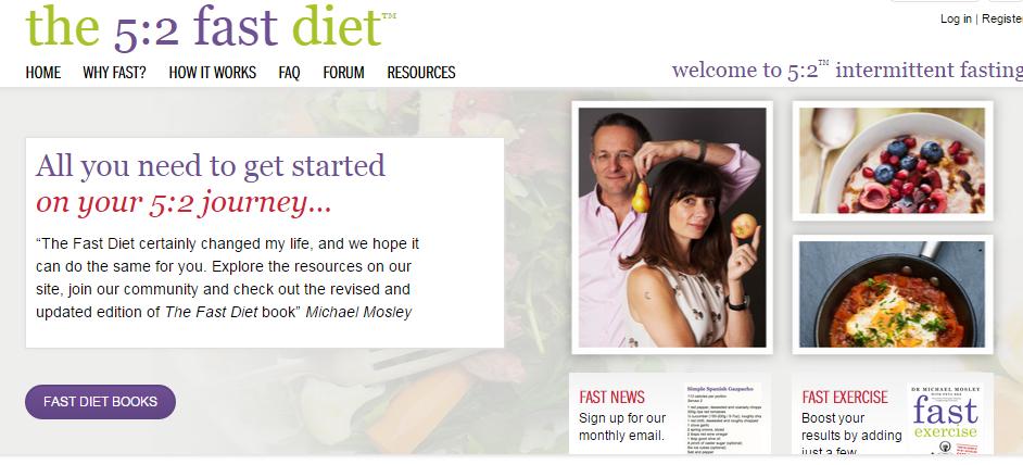 5:2 diet - intermittent fasting